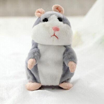 Cheeky Hamster Repeats What You Say Electronic Cute Pet Talking Plush Toy Gift