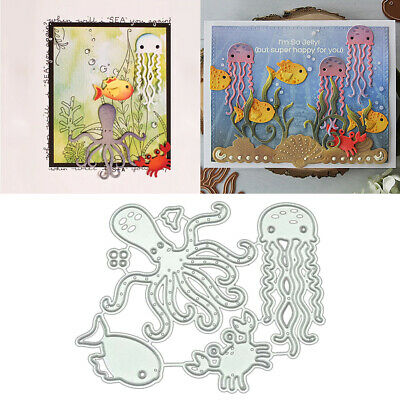 Octopus DIY Metall Stanzformen Schablone Scrapbooking Album Card Crafts