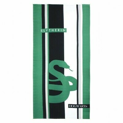 Toalla Polyester Harry Potter Slytherin