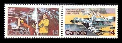 Canada Stamp #765-766 - Natural Resources (1978) 2 x 14¢ MNH PAIR
