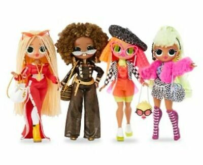 4 L.O.L. Surprise OMG Fashion Dolls LOL Set ROYAL BEE SWAG LADY DIVA NEONLICIOUS