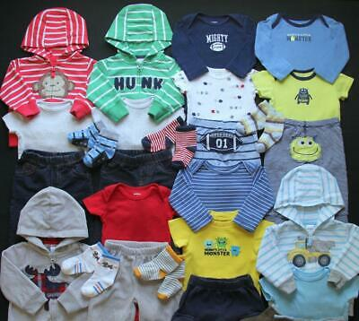 Baby Boy 6 Months Fall Winter Carter's Sets Clothes Outfits Lot Free Shipping!!