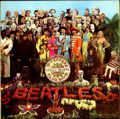 Beatles Sgt. Pepper's - One Box UK vinyl LP album record PCS7027 PARLOPHONE