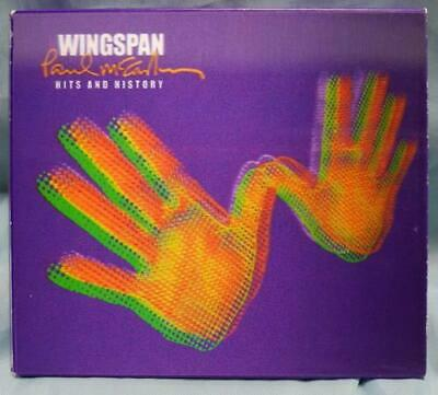 Paul McCartney and Wings Wingspan - Limited Edition 2 CD album (Double CD) UK