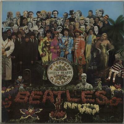 Beatles Sgt. Pepper's - 1 Box - EX vinyl LP album record UK PCS7027 PARLOPHONE