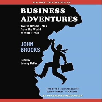Business Adventures By John Brooks (audiobook, Fast e-Delivery)