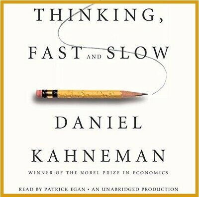 Thinking, Fast and Slow by Daniel Kahneman (audiobook, Fast e-Delivery)