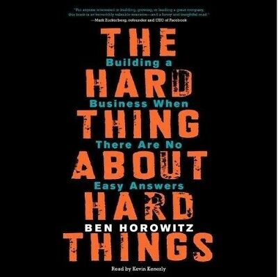 The Hard Thing About Hard Things By Ben Horowitz (audiobook, Fast e-Delivery)