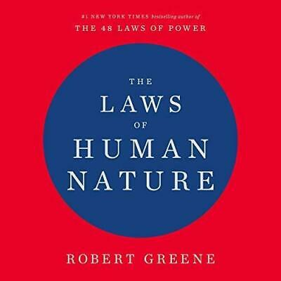 The Laws of Human Nature By Robert Greene (audiobook, Fast e-Delivery)