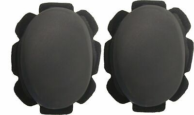 Knee Sliders Yellow with suede & velcro backing (Pair)
