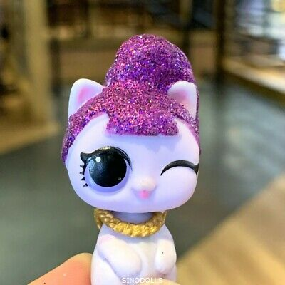 LOL SURPRISE DOLL Makeover Pet Lil Purrfect Purrrfect Perfect Bling Cat Kitty