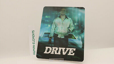 DRIVE - Lenticular 3D Flip Magnet Cover FOR bluray steelbook