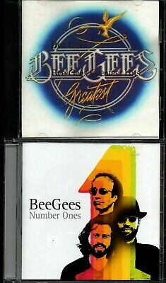 BEE GEES - GREATEST & Number One ~ 2 CD LOT