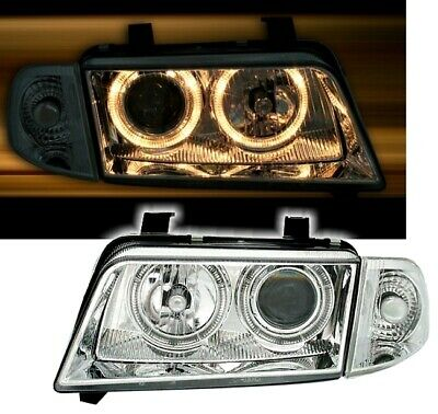 Angel Eyes Scheinwerfer + Blinker Set in Klarglas für AUDI A4 B5 11/94- 960357