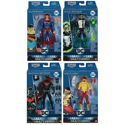 DC Multiverse Wave 10 Lobo Collect and Connect Set of 4 NEW