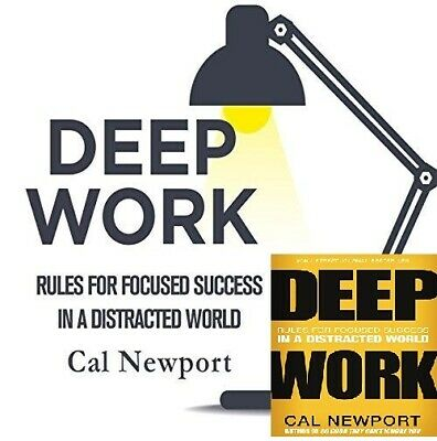 Deep Work By Cal Newport (audiobook, Fast e-Delivery)