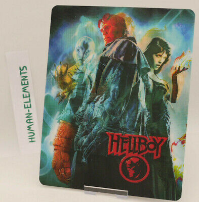 HELLBOY - Lenticular 3D Flip Magnet Cover FOR bluray steelbook