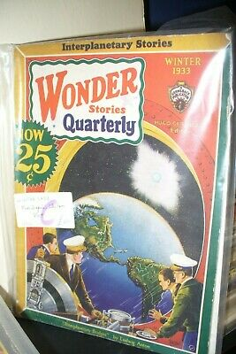 Wonder Stories Quarterly Us Pulp Magazine Winter 1933 [1 Issues]