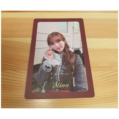 Twice The 3Rd Special Album The Year Of Yes Mina Photo Card