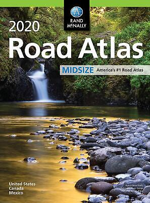 Rand McNally 2020 Midsize Road Atlas United States Atlases and Maps Paperback