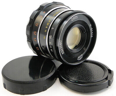 ⭐SERVICED⭐ INDUSTAR-61 L/D Lens + Adapt. E-Mount Sony A 7 7R 7S II III A9 a6500