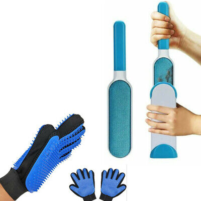 Magic Cleaning Brush Glove Pet Dog Cat Massage Hair Fur Remover Grooming Groomer