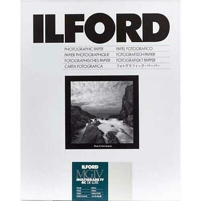 "Ilford Multigrade IV RC Deluxe Enlarging Paper, 8x10"", Pearl Surface #1178283"