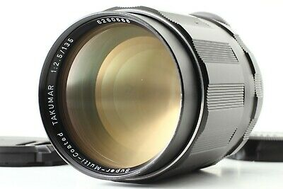 【Rare! EXC++++ 6 elements】Pentax SMC Takumar 135mm F2.5 M42 Lens from Japan