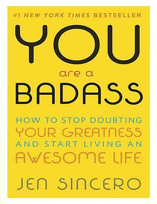 You Are a Badass: How to Stop Doubting... Jen Sincero (E-B0K&AUDI0  E-MAILED)