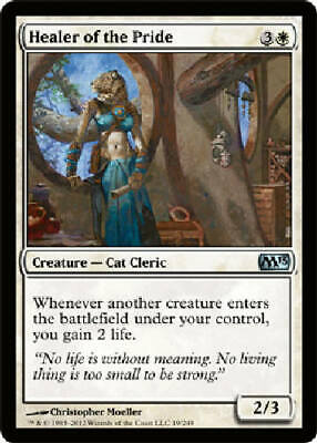 HEALER OF THE PRIDE X4 4 4X Magic 2013 MTG Magic the Gathering DJMagic
