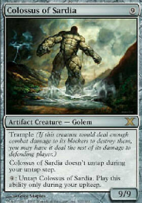 COMPOSITE GOLEM X4 4 4X 10th Edition MTG Magic the Gathering DJMagic