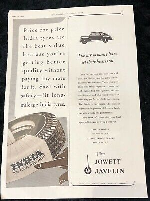 VINTAGE CAR ADVERT 1953 James Neale & Sons Ltd Raydyot Lamps Mirrors