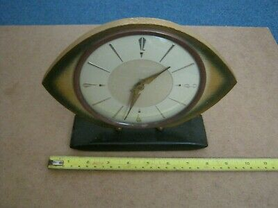 Vintage Westclox Retro Eye Mantel Clock,Made In Scotland.