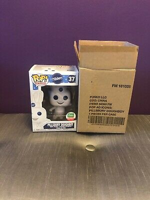 Funko POP Ad Icons Pillsbury Doughboy #41 2019 ECCC Shared Exclusive