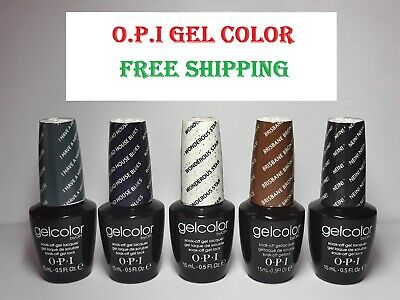 2017 O.P.I Gel Color Soak Off UV LED OPI Gel Polish 15ml 0.5 oz HOT SALE