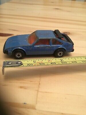 Matchbox  - Rare Model - Toyota Supra - Made in Macau - 1982 - 1:60 Scale