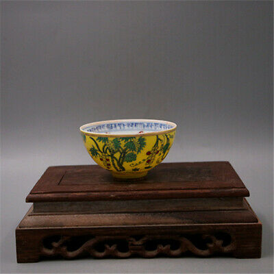 Chinese Ming Dynasty porcelain Hand painted grape cup