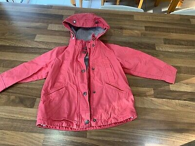 Girls NEXT, Pink Summer Parka. Age 4. VGC