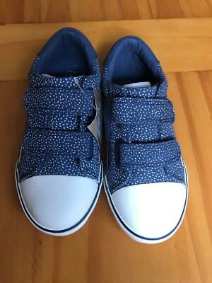 Girls Blue Casual Pump, John lewis. Infant Size 10. Brand new
