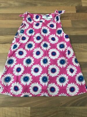 Girls Flower Pattern Top, Age 3-4. M&S. VGC
