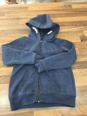 Girls Blue Hoodie, NEXT, Age 4