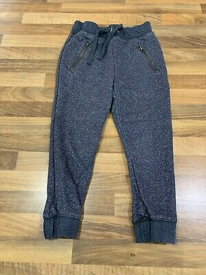 Girls NEXT Black Sparkle Joggers. Age 4. VGC