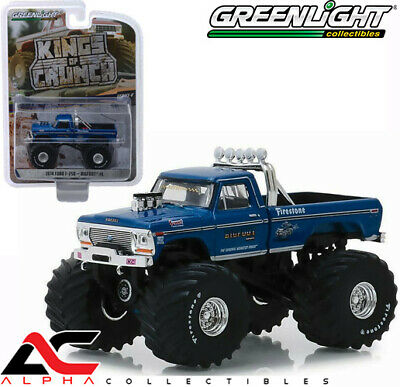"Greenlight 49040-A 1:64 1974 Ford F-250 Bigfoot 66"" Tires Monster Truck"