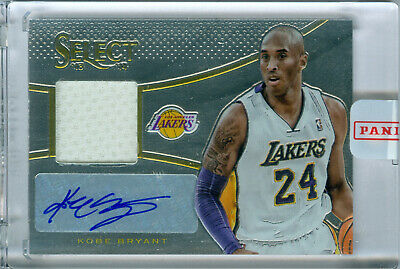 2013-14 Kobe Bryant Select Jersey Autographs Auto In Hand! Lakers! Free Ship!