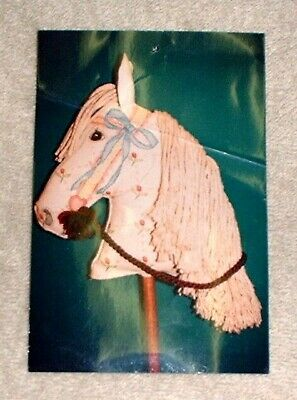 MZC Hobby Horse Head HP Hand Painted Needlepoint Canvas