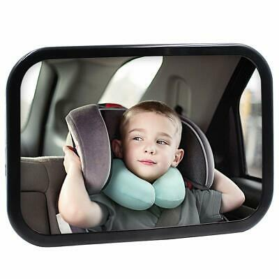 Baby Mirror Car Seat Back Infant View Rear Facing Newborn Safety 360 Degree