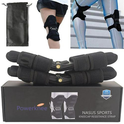 Power Leg Kneepad Power Joint Support Knee Pads Spring Force 360° Brace Boxed