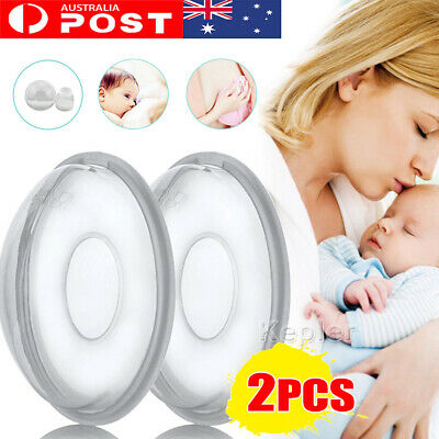 2Pcs Breast Milk Collection Shell Breast Saver for Travel Daily Working Moms