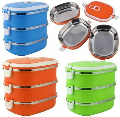 Thermo Lunchbox Brotdose Speisebehälter Essen Thermos Isolier Behälter Container