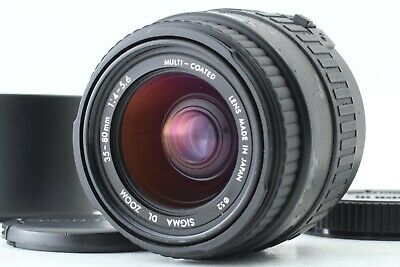 Sigma DL Zoom 35-80mm f/4-5.6 Multi-Coated Auto Focus Lens, For Canon EF Mount85